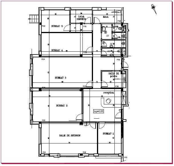 bureau 2eme etage